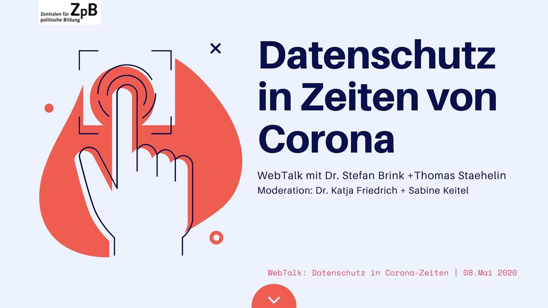 WebTalk | 08. Mai | Dr. Stefan Brink + Thomas Staehelin