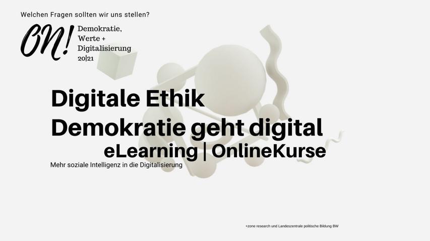 Online-Kurs Demokratie geht digital