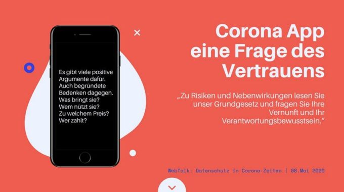 Warum Ich Mich Für Die Corona-App Ausspreche