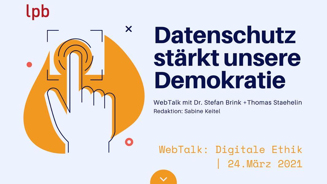 WebTalk 24. März 2021 Dr. Stefan Brink Und Thomas Staehelin